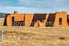 Fort Union National Monument, NM; Santa Fe Trail rut visible - D4-C1-0322 - 72 ppi