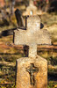 Tombstones - Our Lady of Light Catholic Church in Apache Canyon, NM - D4-C1-0152 - 72 ppi