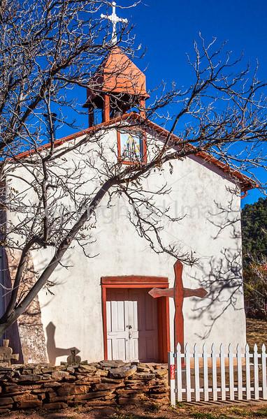 Historic Catholic church in Apache Canyon, NM - D4-C3-0241 - 72 ppi