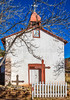 Historic Catholic church in Apache Canyon, NM - D4-C2-0369 - 72 ppi