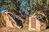 Battle monuments in Glorieta Pass, NM - D1-3 - C3-0218 - 72 ppi