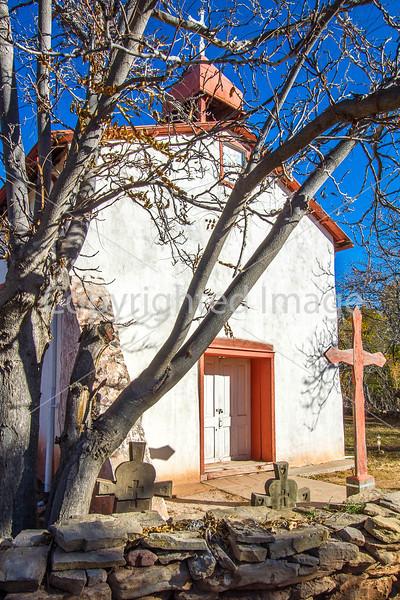 Historic Catholic church in Apache Canyon, NM - D4-C2-0368 - 72 ppi
