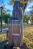 Plaque of Kearny's 1846 speech in downtown plaza in Las Vegas, NM - D4-C2-0486 - 72 ppi