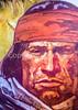 Visitor Center artwork at Pecos National Historical Park, NM - D1-3 - C2 --0294 - 72 ppi