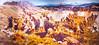 Visitor Center artwork at Pecos National Historical Park, NM - D1-3 - C2 --0292 - 72 ppi