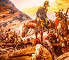 Visitor Center artwork at Pecos National Historical Park, NM - D1-3 - C2 --0120 - 72 ppi