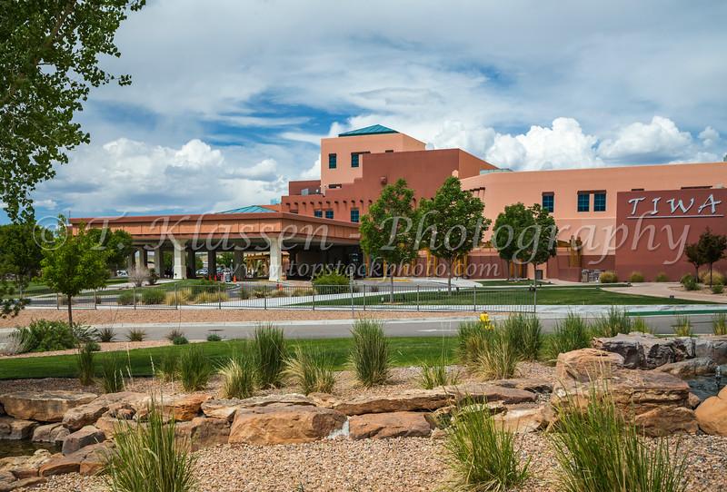 The Isleta Resort in the Pueblo of Isleta, New Mexico, USA.