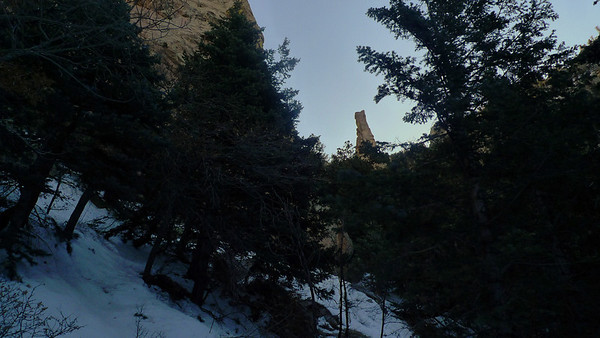 Sandia Mountains - Winter 2011