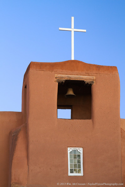 The Chapel of San Miguel, Santa Fe, NM.