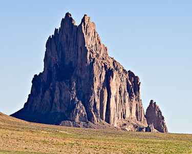 128. Shiprock, San Juan Basin, New Mexico