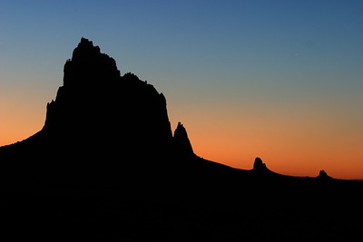 127.  Shiprock, San Juan Basin, New Mexico
