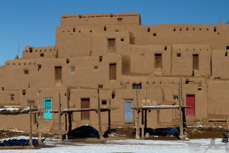 Taos Pueblo, Taos, NM.