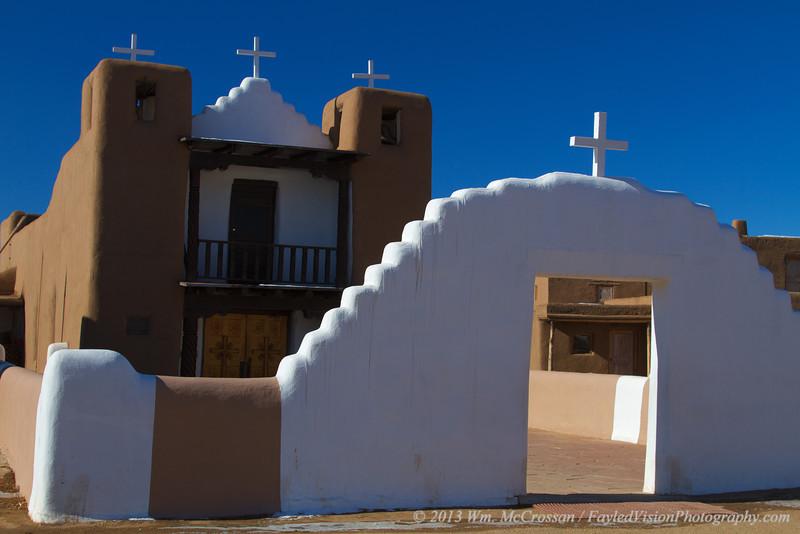 San Geronimo Church, Taos Pueblo, Taos, NM.