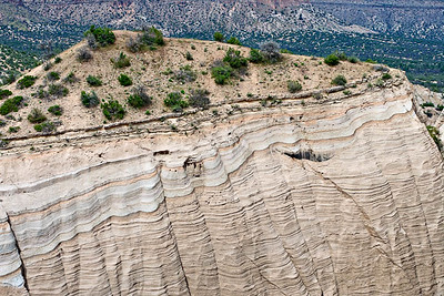 Stacked ignimbrite flows - Canyon Trail