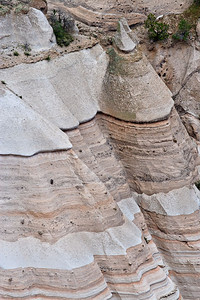 Stacked ignimbrite flows- details - Canyon Trail