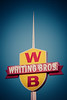 Whiting Bros Gas Station Sign