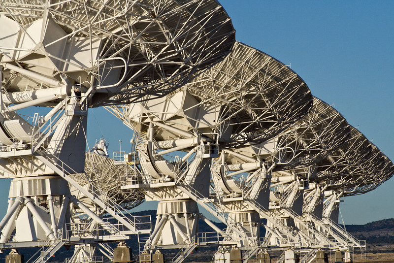 Very Large Array Radio Telescopes