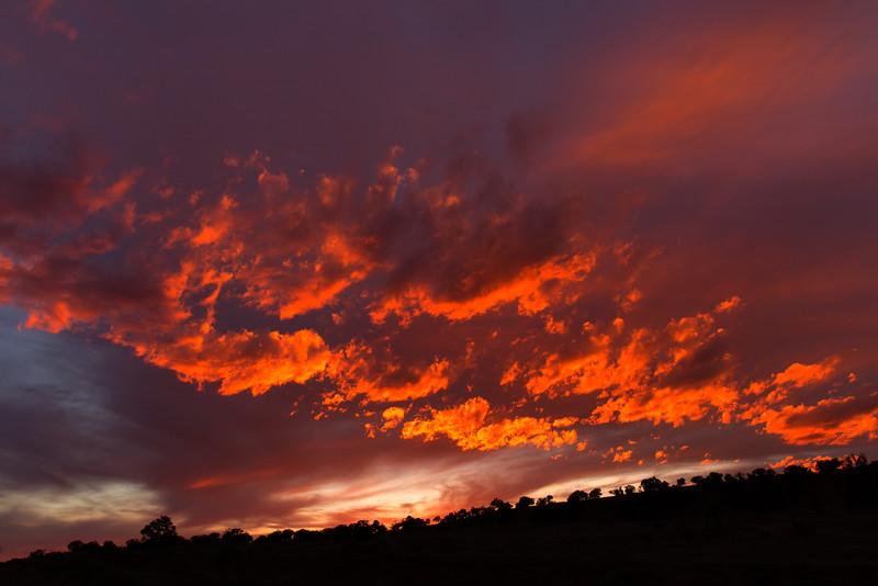 Sunset, Thoreau, NM