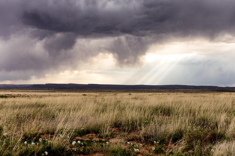 Spring Thunderstorm, Laguna, NM