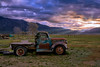 Taos Meadow Sunrise Truck