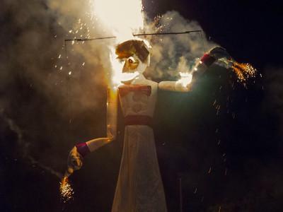 The Burning of Zozobra