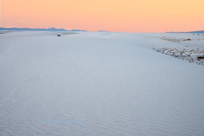 Colors of White Sands
