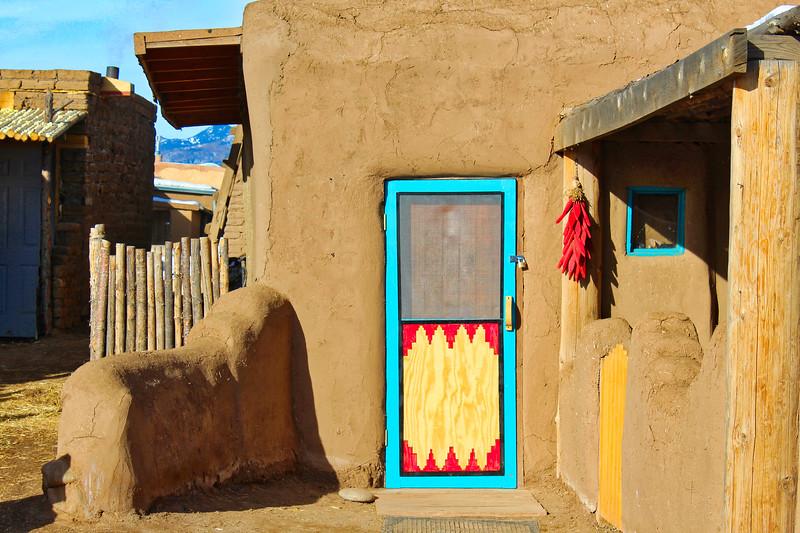 Taos Pueblo Door