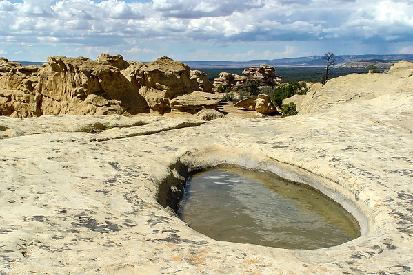 Sandstone Bluffs, El Malpais Nat. Mon., NM