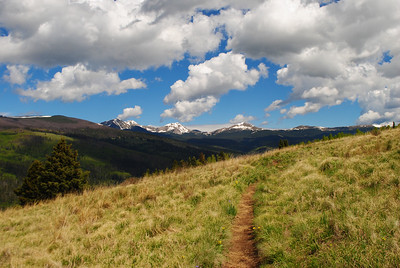 Trail to Truchas. Pecos Wilderness, New Mexico
