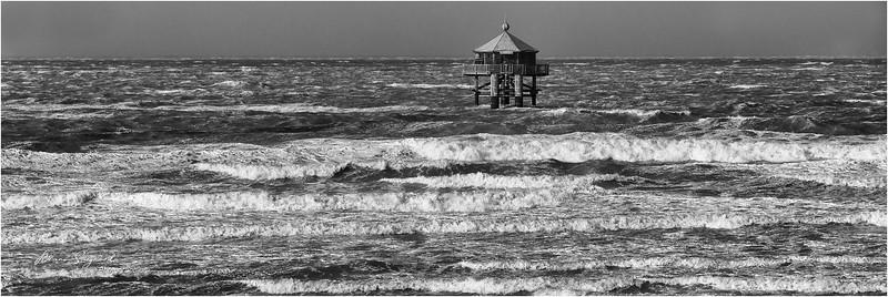 Le phare du Bout du Monde   - storm  -   La Rochelle