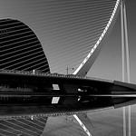 L'Agora et le pont de L'Assut de l'Or  -  Valencia  -  Spain