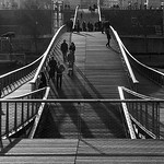 Passerelle Simone de Beauvoir  -  Paris