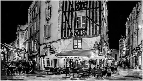 Pedestrian streets  -  La Rochelle  - France