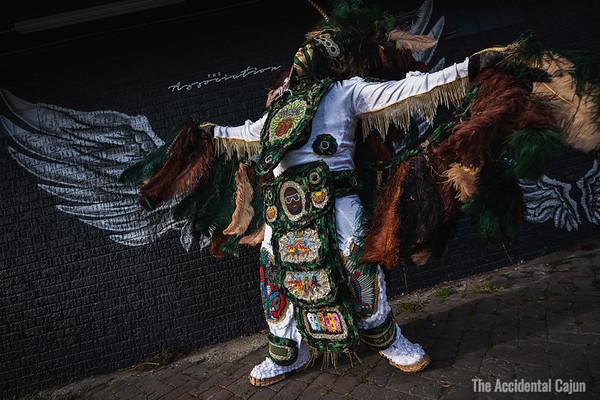Ancestors and Angels, Flag Boy Gizmo, St. Joseph's Night 2020