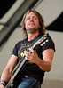 Keith Urban perfoming at the New Orleans Jazz & Heritage Festival on May 5, 2006.