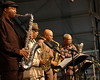 The World Saxophone Group performs at the New Orleans Jazz & Heritage Festival on May 4, 2007.