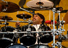 Carter Beauford plays with the Dave Matthews Band at Jazzfest 2006.