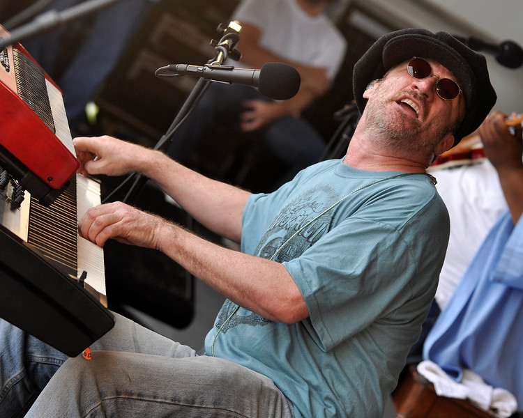 Jon Cleary & The Absolute Monster Gentlemen performing at the New Orleans Jazz & Heritage Festival on May 3, 2009.