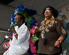 Big Chief Bo Dollis and special guest Marva Wright performing with the Wild Magnolias at the New Orleans Jazz & Heritage Festival on May 3, 2009.