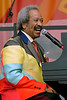NEW ORLEANS, LA-May 5: Allen Toussaint performs at the New Orleans Jazz & Heritage Festival in New Orleans, LA on May 5, 2012. (Photo by Clayton Call/Redferns)