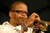 Terence Blanchard performing at the New Orleans Jazz & Heritage Festival on April 27, 2008.