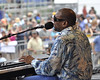 NEW ORLEANS, LA-MAY 1: Henry Butler performs on the Gentilly Stage at the New Orleans Jazz & Heritage Festival on May 1, 2010.  (Photo by Clayton Call/Redferns)