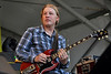 NEW ORLEANS, LA-APRIL 25: Derek Trucks performs with the Allman Brothers Band at the New Orleans Jazz & Heritage Festival on April 25, 2010. (Photo by Clayton Call/Redferns)