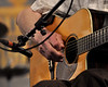 Doc Watson performing at the New Orleans Jazz & Heritage Festival on May 1, 2009.