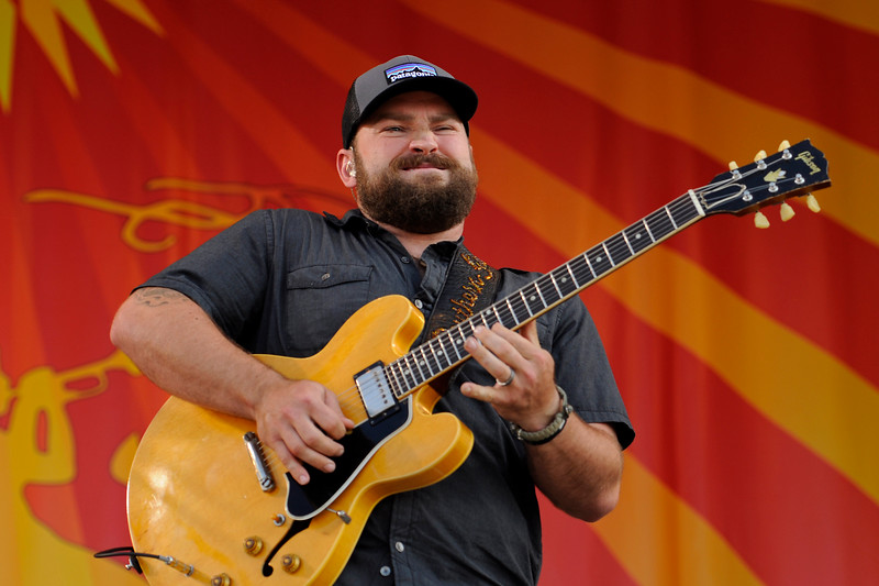 NEW ORLEANS, LA-May 4: Zac Brown performs with the Zac Brown Band at the New Orleans Jazz & Heritage Festival in New Orleans, LA on May 4, 2012.