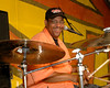 Raymond Weber lays down the beat with Ivan Neville's Dumpstaphunk on the Congo Square stage at Jazzfest 2006.