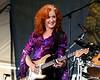 Bonnie Raitt performs at the New Orleans Jazz & Heritage Festival on April 29, 2007.