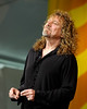 Robert Plant performing with Alison Krauss at the New Orleans Jazz & Heritage Festival on April 25, 2008.