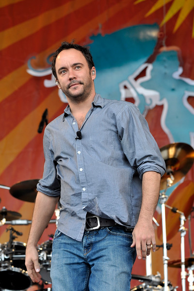 Dave Matthews Band performing live at the New Orleans Jazz & Heritage Festival on April 26, 2009.