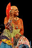 NEW ORLEANS, LA-APRIL 29: Dee Dee Bridgewater performs at the New Orleans Jazz & Heritage Festival on April 29, 2010. (Photo by Clayton Call/Redferns)